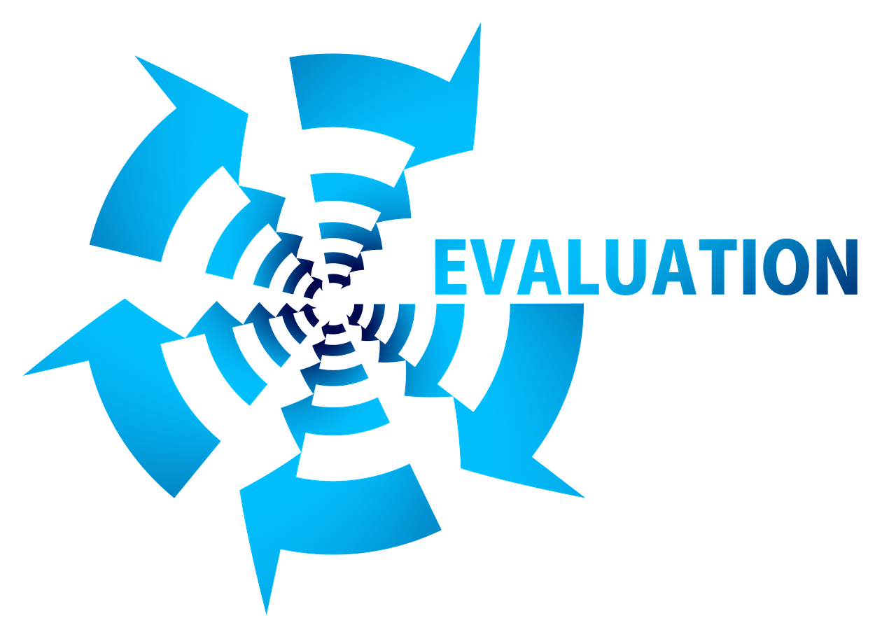 評価という文字の書かれたイラスト