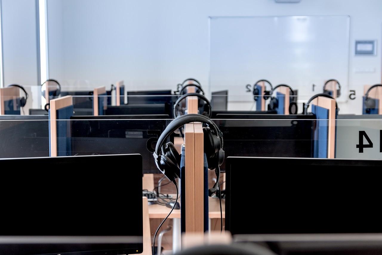 管理の行き届いた学校の教室風景