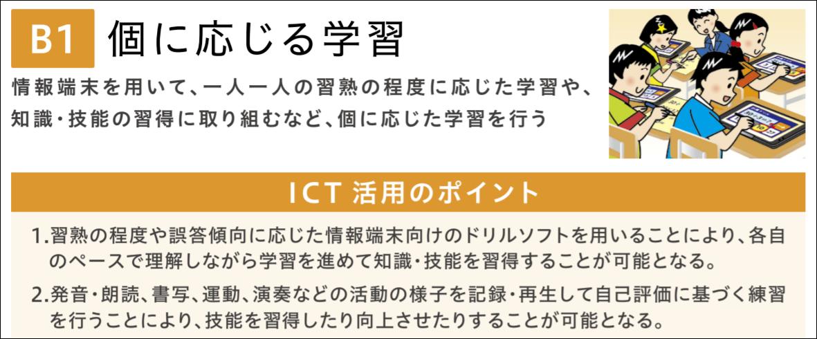 個別学習とICT
