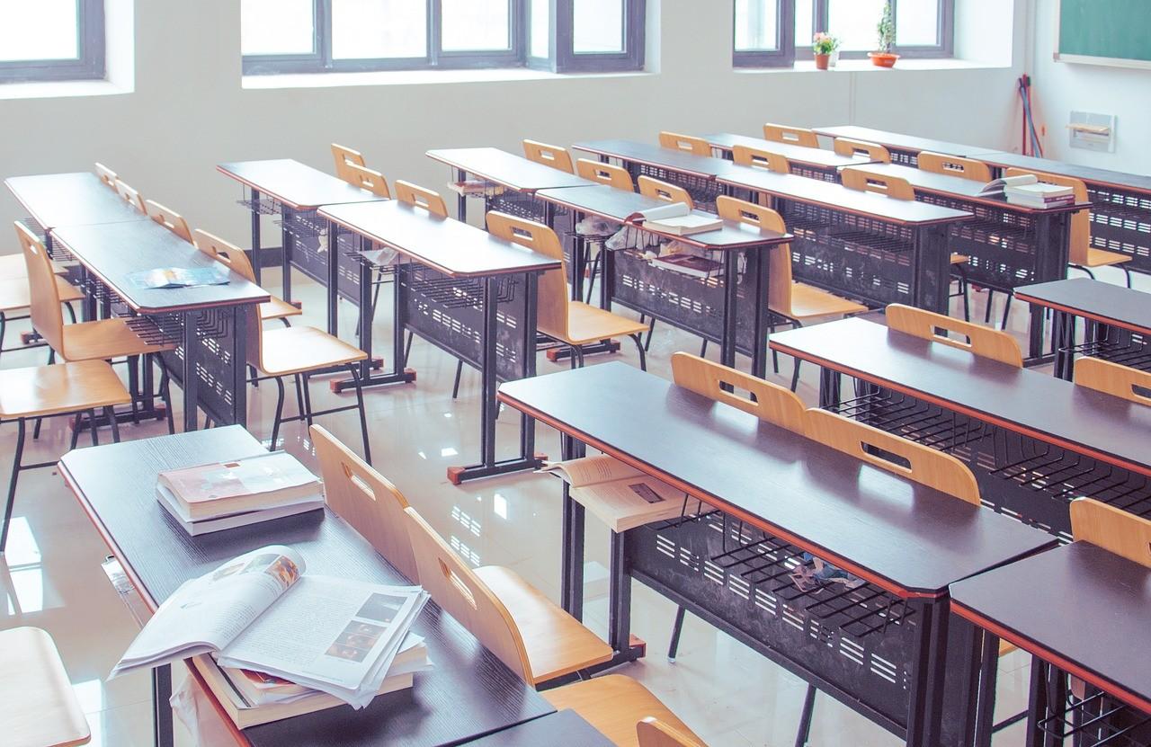 高校の教室風景