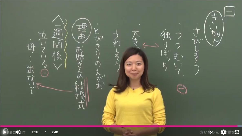 オンライン教育での講義例