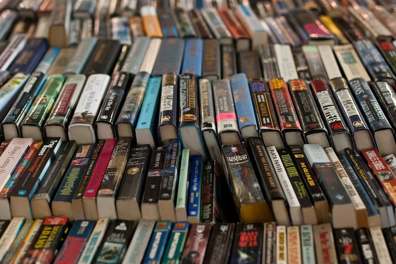 多くの書物