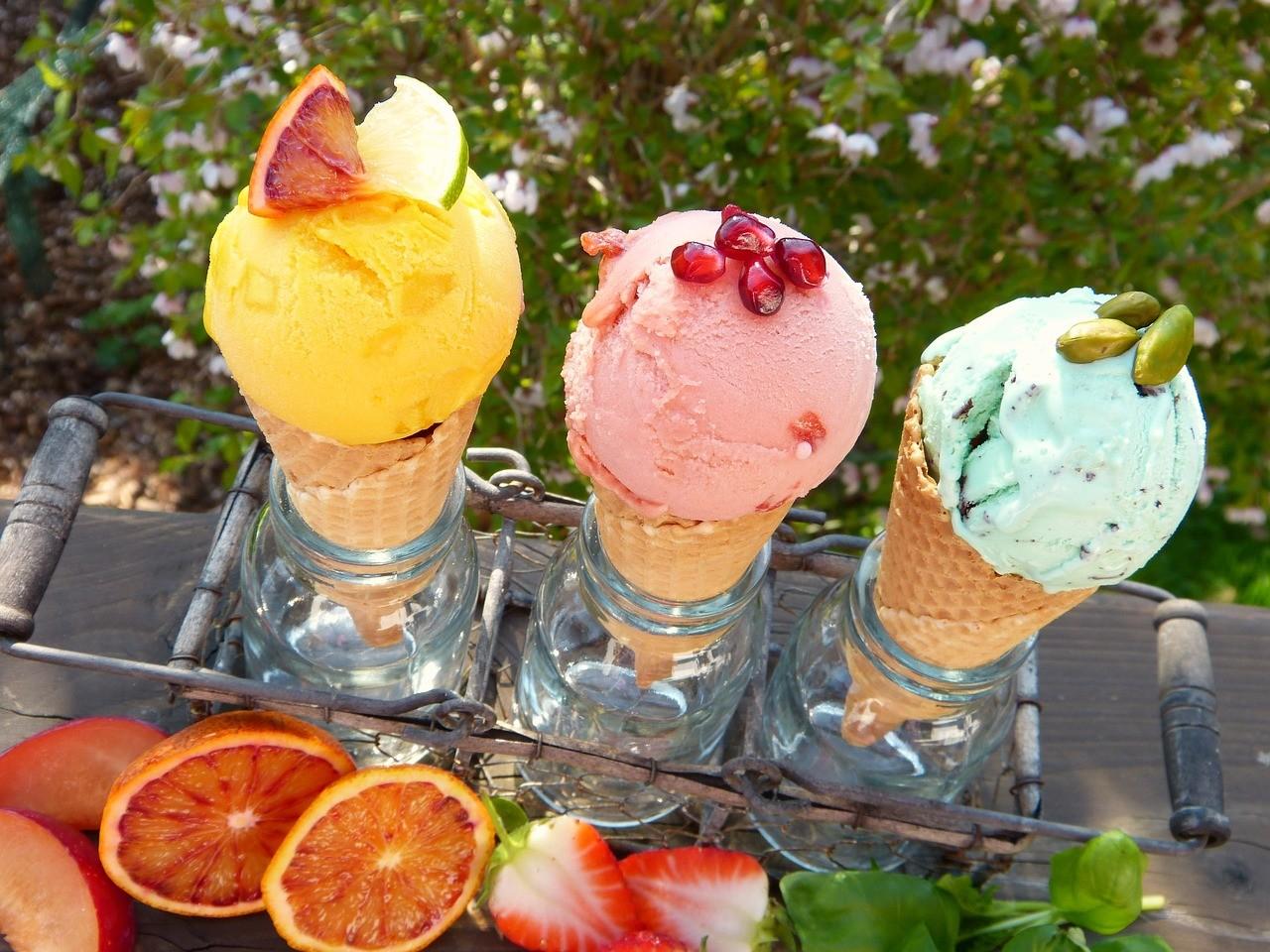 嬉しいご褒美としてのアイスクリーム