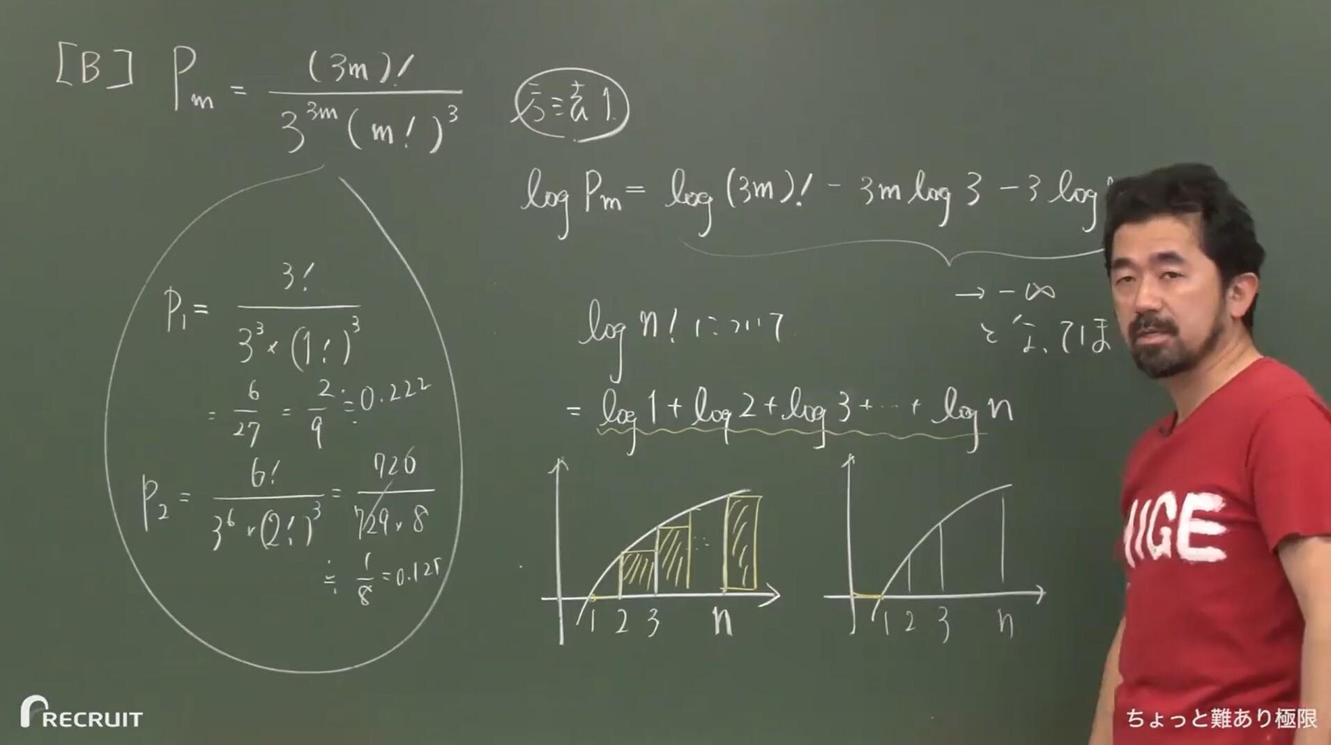 トップレベル数学IIIの講義風景