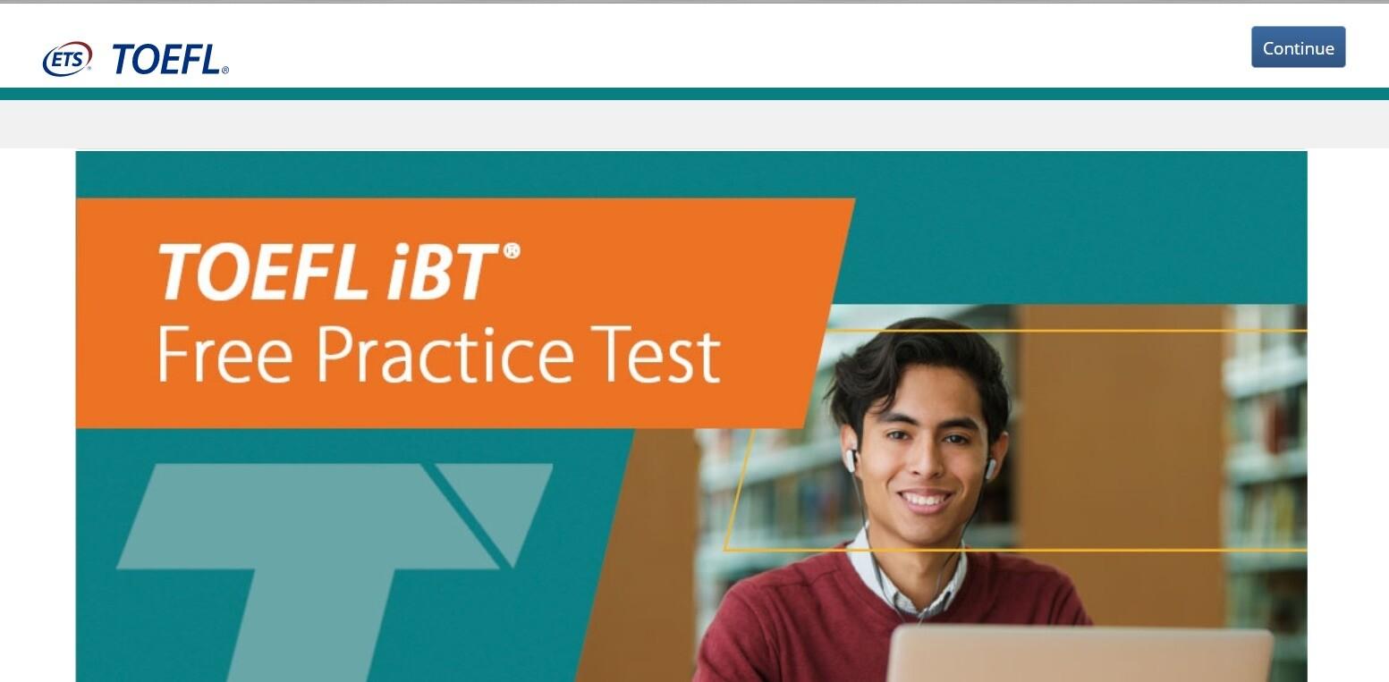 TOEFL iBTの無料模擬テスト
