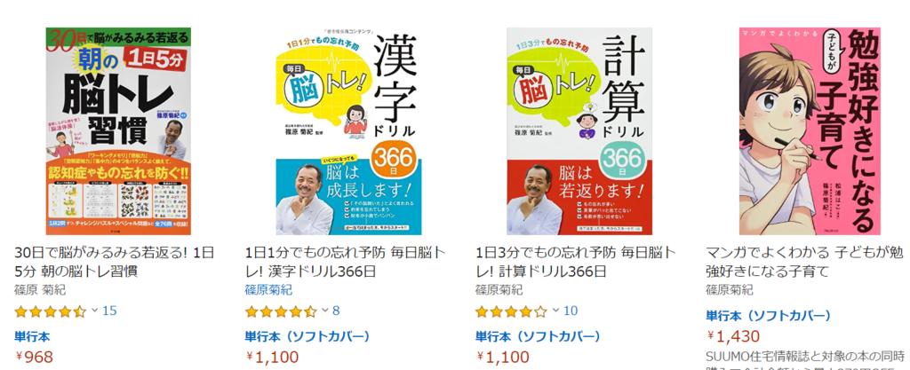 篠原菊紀の書籍