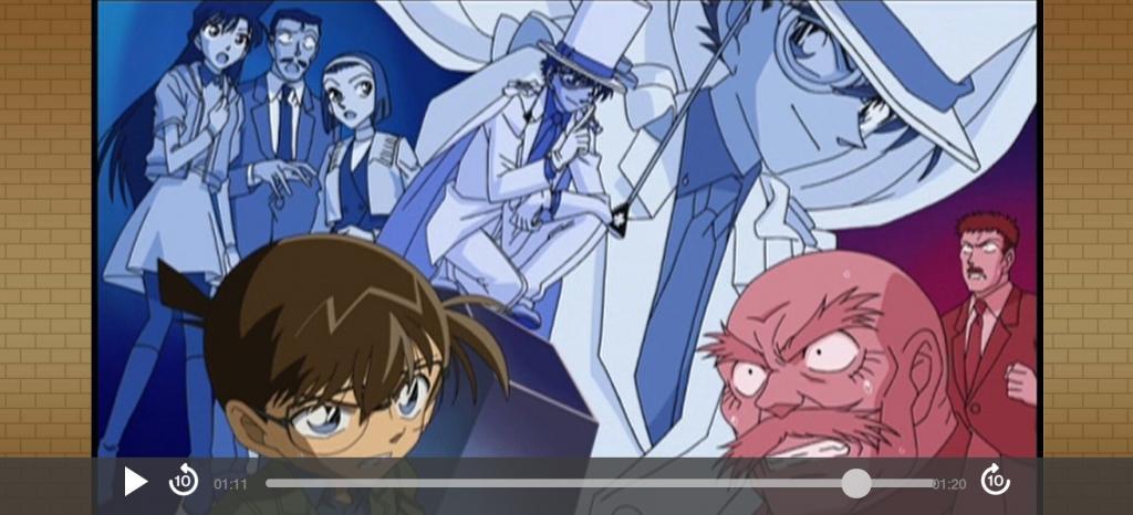 名探偵コナンゼミのアニメの1シーン