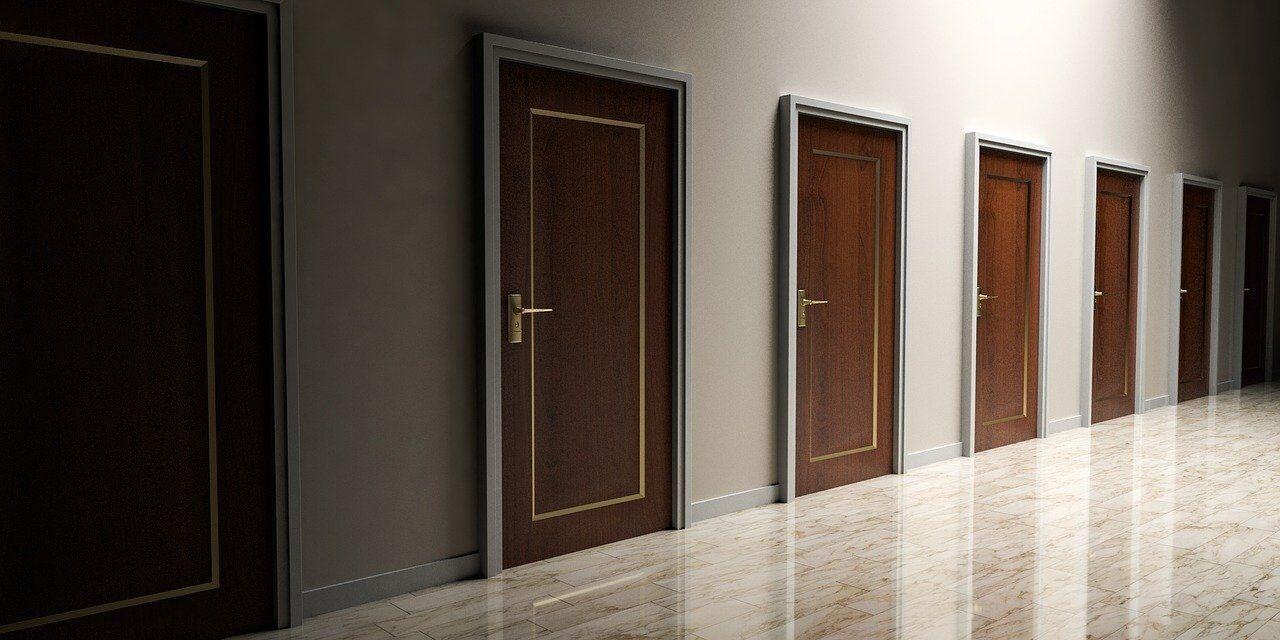 複数の部屋と扉