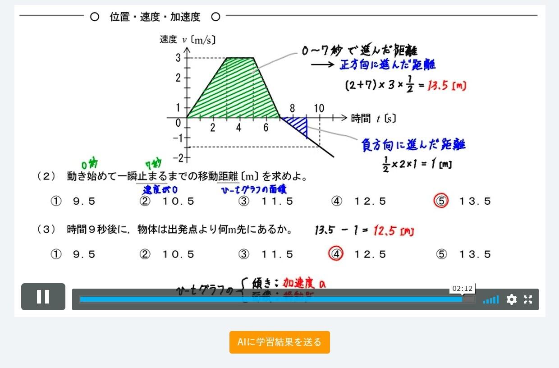 物理の練習問題の解説動画