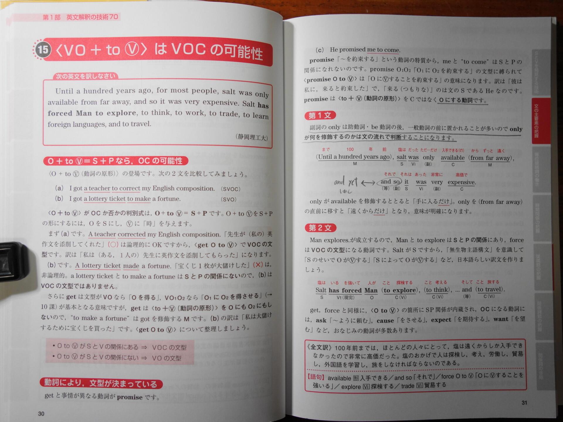 英文解釈の技術70