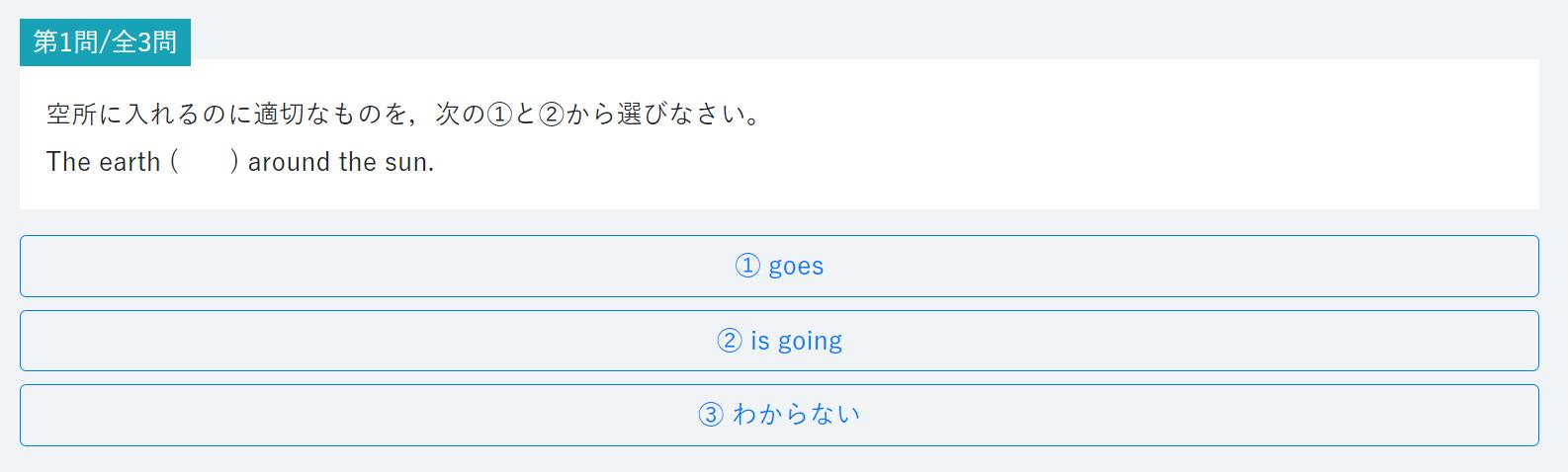 河合塾One英語のレベルチェックテスト