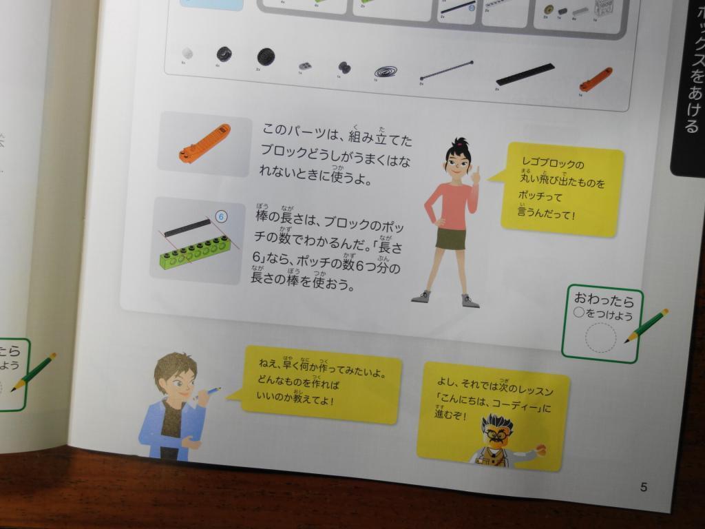 Z会プログラミング講座のワークブックのイラスト